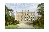 Elvaston Castle, Derbyshire, Home of the Earl of Harrington, C1880 Giclee Print by AF Lydon