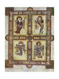 The Evangelical Symbols, 800 Ad Giclee Print