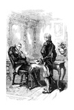 The Marquis De Lafayette with George Washington, C1775-1781 Giclee Print