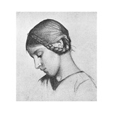 Study for St Elizabeth of Hungary, C1895 Giclee Print by Marianne Stokes