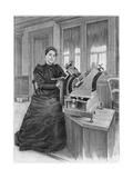 Dorothea Klumpke Roberts, American Mathematician and Astronomer, 1903 Giclee Print