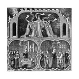 Allegory of Justice, from Aristotle's Ethics, 14th Century Giclee Print