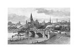 Princes Bridge, Melbourne, Victoria, Australia, 1886 Giclee Print