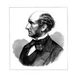 John Stuart Mill, British Social Reformer and Philosopher, 1873 Giclee Print