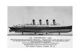 The RMS Mauretania, 20th Century Giclee Print