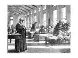 Ward in the Hampstead Smallpox Hospital, 1871 Giclee Print