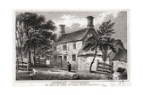 Woolsthorpe Manor, Near Grantham, Lincolnshire, Birthplace of Sir Isaac Newton, Early 19th Century Giclee Print