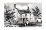 Woolsthorpe Manor, Near Grantham, Lincolnshire, Birthplace of Sir Isaac Newton, 1840 Giclee Print