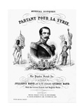 Napoleon III, Emperor of the French, 1855 Giclee Print