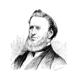 Brigham Young, American Mormon Leader, 1877 Giclee Print