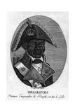 Jean-Jacques Dessalines, Emperor of Haiti, 1806 Giclee Print by  Rea