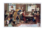 Mozart Working on His Opera the Magic Flute, 1791 Giclee Print