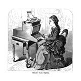 Sholes Type Writer, 1872 Giclee Print