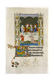 The Marriage Feast at Cana, Early 14th Century Giclee Print