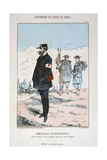 Ambulances Internationales, Siege of Paris, 1870-1871 Giclee Print