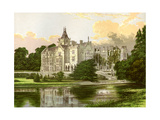 Adare Manor, County Limerick, Ireland, Home of the Earl of Dunraven, C1880 Giclee Print by Benjamin Fawcett