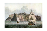 St Helena, in Napoleon's Time, 19th Century Giclee Print by Robert The Younger Havell