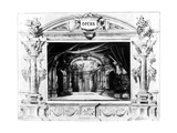 Set Design for Mozart's Don Giovanni, 1875 Giclee Print