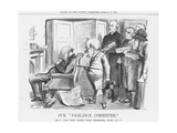 Our Vigilance Committee, 1883 Giclee Print by John Tenniel