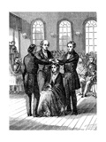 Mormon Confirmation Ceremony, Salt Lake City, Utah, 1853 Giclee Print