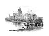 Melbourne Exhibition Building, Victoria, Australia, 1886 Giclee Print