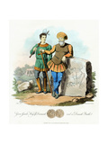 Gurm Gamle (Gorm), King of Denmark from 840, 1815 Giclee Print