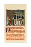 Coronation of Charles V, C1365 Giclee Print