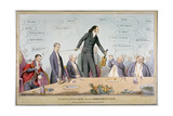 Fiddlestick Versus Broomstick, 1831 Giclee Print by Robert Seymour