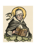 St Thomas Aquinas, 13th Century Italian Philosopher and Theologian Giclee Print