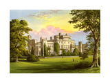 Hawarden Castle, Flintshire, Wales, Home of William Gladstone, C1880 Giclee Print by Benjamin Fawcett