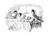Florence Nightingale Watching a Nurse at Work, 1854 Giclee Print