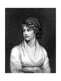 Mary Wollstonecraft, 18th Century English Teacher, Writer and Feminist Giclee Print by John Opie