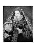 Queen Elizabeth I, C1580 Giclee Print by Federico Zuccaro