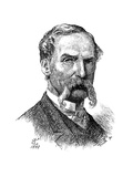 Sir John Tenniel, British Artist and Cartoonist, 1889 Giclee Print by John Tenniel