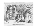Castigation under Difficulties, 1870 Giclee Print
