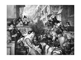 The Setting Out of the Train Bands from London..., 1643 Giclee Print by Charles West Cope