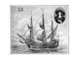 A Representation of the Mayflower, 1922 Giclee Print