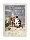 The Man of the Woods and the Cat-O'-Mountain, 1821 Giclee Print by Theodore Lane