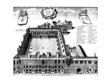 Gresham College, London, 1739 Giclee Print