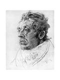 JMW Turner, British Artist, 19th Century Giclee Print by Cornelius Varley