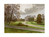 Haddo House, Aberdeenshire, Home of the Earl of Aberdeen, C1880 Giclee Print by Benjamin Fawcett