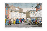 Joint Stock Street, 1809 Giclee Print by George Moutard Woodward