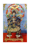 The Emperor of Annam, Vietnam, 1922 Giclee Print