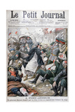 Siege of Port Arthur, Russo-Japanese-War, 1904 Giclee Print