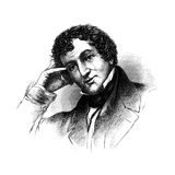 Washington Irving, American Author Giclee Print