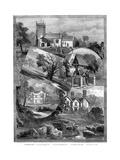 Views of Sandringham, Norfolk, 1887 Giclee Print