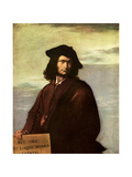 Cult of the Individual: Salvator Rosa, Italian Baroque Artist, 1640 Giclée-tryk af Salvator Rosa