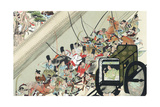 Heiji Rebellion, Japan, 1159 Giclee Print by Keion Keion