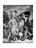 Miss Wicket and Miss Trigger, 1770 Giclee Print by John Collet
