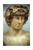 Antinous, Bithynian Youth, Favourite and Companion of the Roman Emperor Hadrian Giclée-tryk